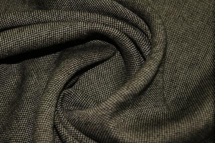 Костюмная шерсть со льном