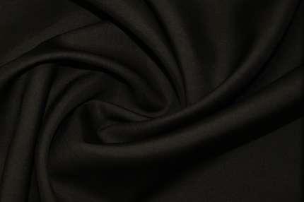 Шелк плательно-костюмный тёмно-коричневый
