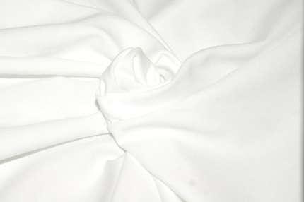 Трикотаж хлопковый белый