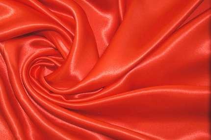 Креп-сатин оранжевый