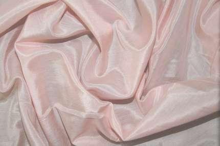 Батист шёлковый светло-розовый