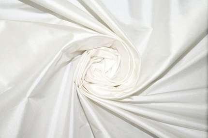Тафта шелковая белая