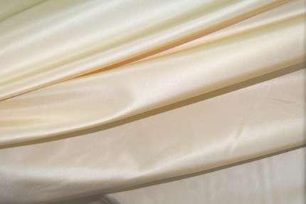 Тафта шелковая слоновая кость