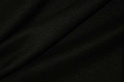 Шерсть пальтово-костюмная черная