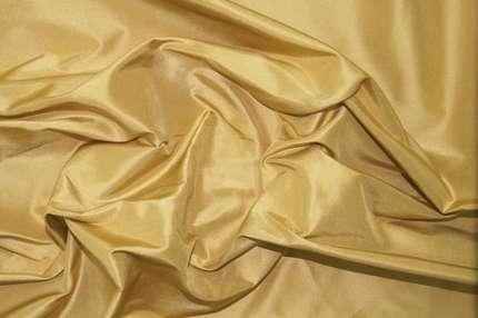 Тафта шелковая золотая