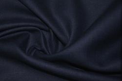Шёлк плательно-костюмный синий