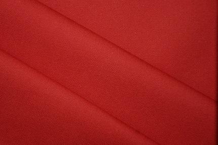 Хлопок костюмный красный
