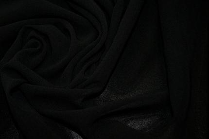 Шифон черный