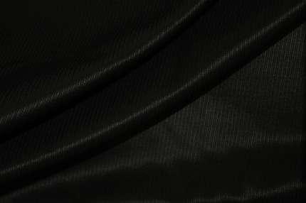 Жаккард шелковый чёрный