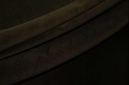 Бархат хлопковый коричневый