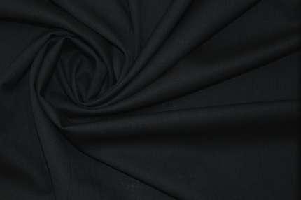 Шерсть плательно-костюмная тёмно-синяя
