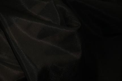 Батист шелковый черный