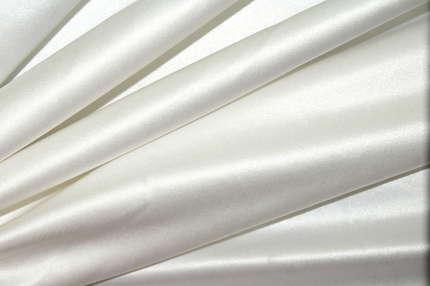 Атлас корсетный (дюшес) хлопковый белый