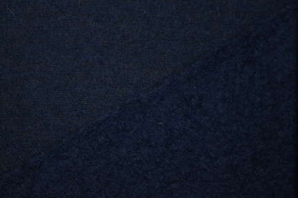 Лоден шерстяной синий