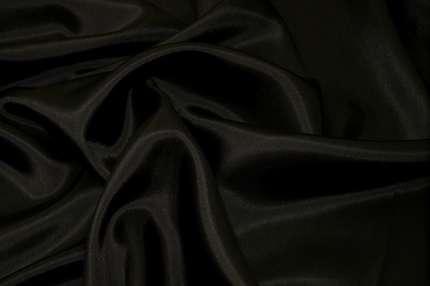 Подкладочная вискоза чёрная