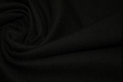 Шерсть черная стрейч