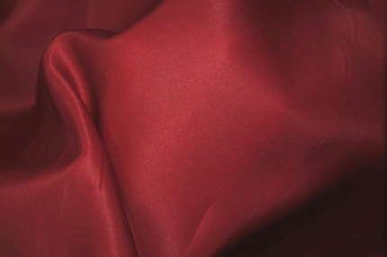 Органза шелковая плотная атласная