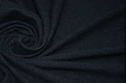 Трикотаж хлопковый тёмно-синий