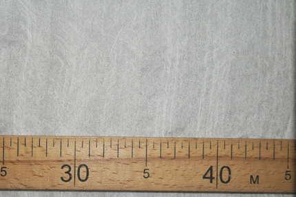 Шифон шелковый трехслойный белый