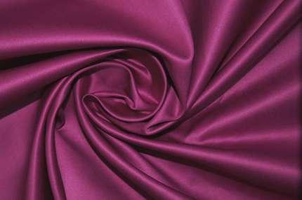Атлас корсетный сиренево-фиолетовый