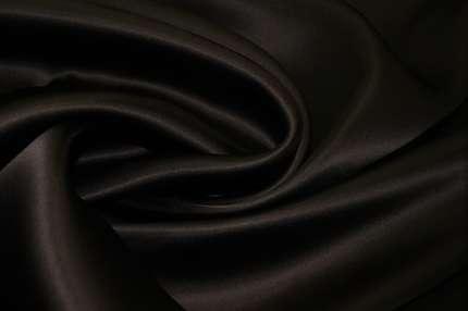 Органза шелковая атласная