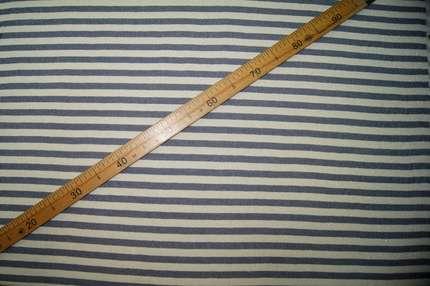 Трикотаж футер с люрексом полоска