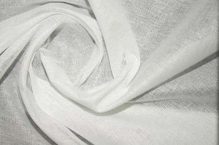 Мадаполам хлопковый (ситец) белый