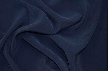 Купра вискозная синяя