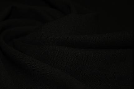 Шерсть плательно-костюмная чёрная