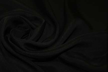 Муслин шелковый черный