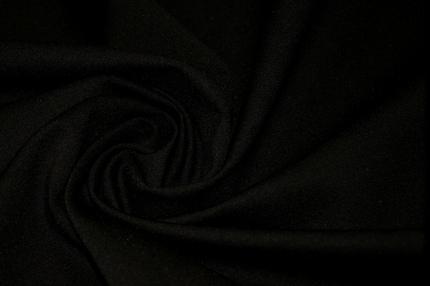Трикотаж джерси черный