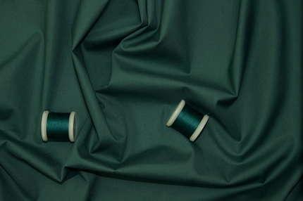 Хлопок плательно-сорочечный тёмно-бирюзовый