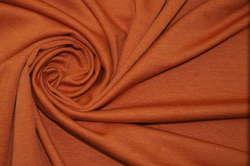 Трикотаж джерси оранжевый