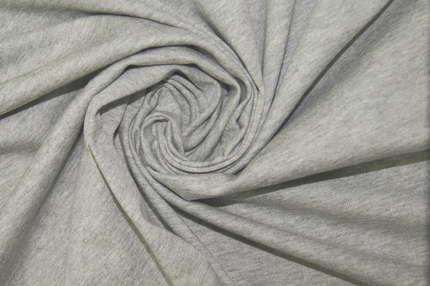 Трикотаж хлопковый широкий серый