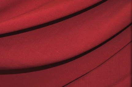 Лён плательно-костюмный малиновый