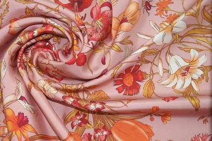 """Плательно-костюмный шелк """"Flora"""""""