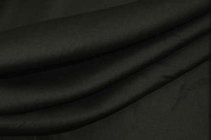 Лён плательно-сорочечный чёрно-серый