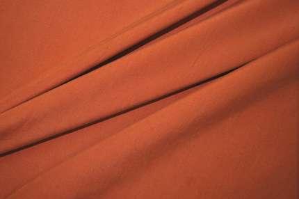 Шёлк плательно-костюмный пыльный оранжевый