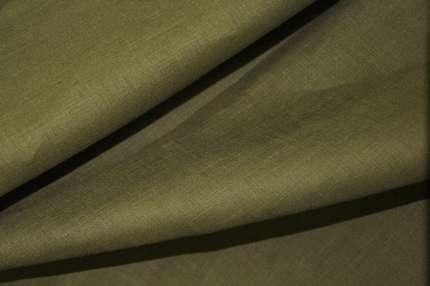 Лён плательно-сорочечный зелёный
