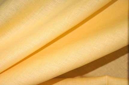Лён плательно-сорочечный жёлтый