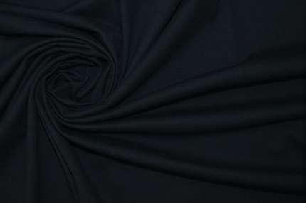 Трикотаж поло хлопковый тёмно-синий