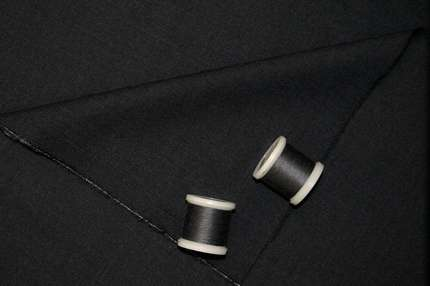 Шерсть костюмная темно-серая