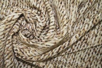 Крепдешин шелковый набивной