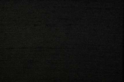 Дикий шелк дюпион (шантунг) черный