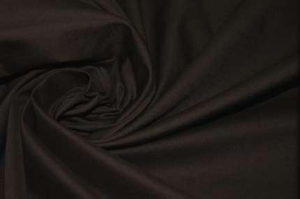 Батист хлопковый коричневый