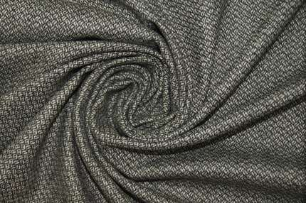 Жаккард шерстяной костюмно-пальтовый