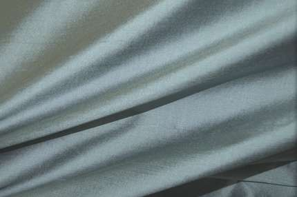 Дикий шелк дюпион (шантунг) серо-голубой