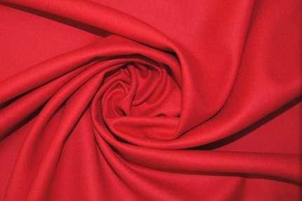 Шерсть костюмная красная