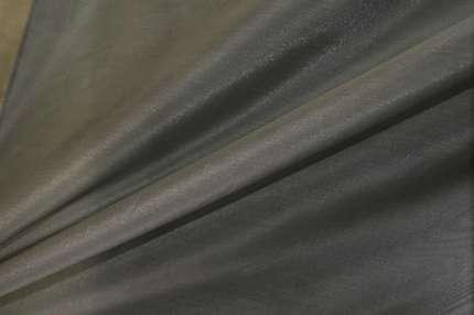 Органза шелковая серая
