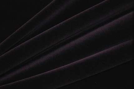 Бархат хлопковый фиолетовый стрейч